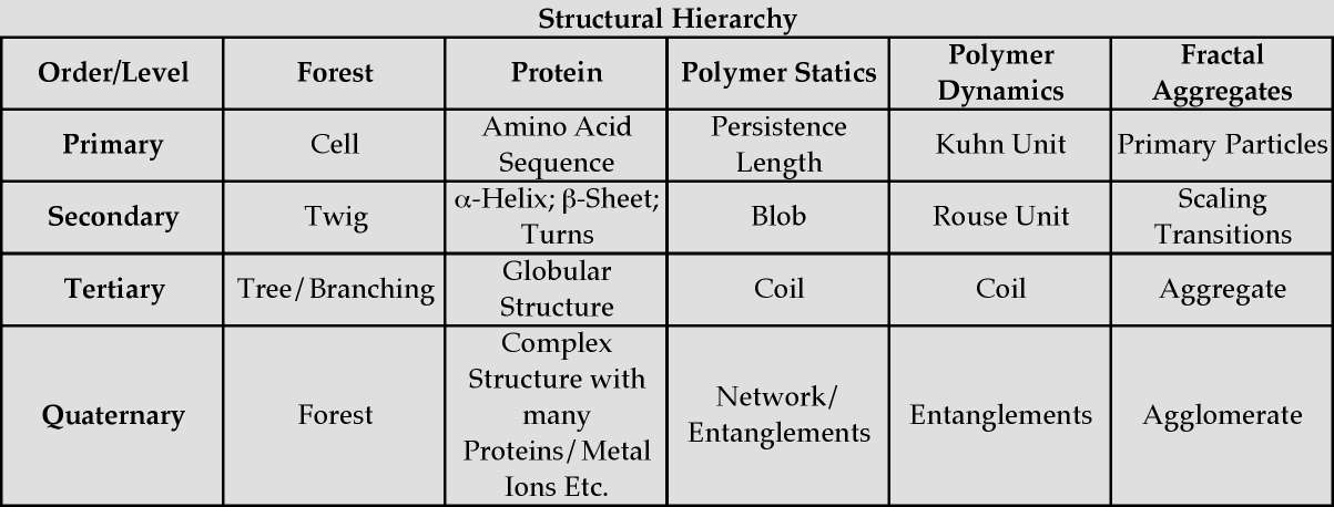 The Morphology of Complex Materials